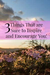 inspire and encourage