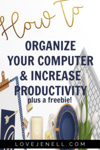How to Organize Your Computer Desktop